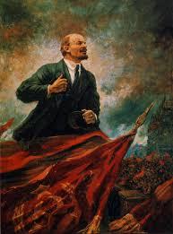day 128 that election luke hodgkin they have of course forgotten lenin s aleksandr gerasimov lenin on the rostrum