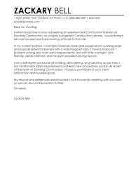 best construction cover letter examples   livecareerconstruction cover letter examples