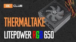 <b>Thermaltake Litepower</b> RGB 650W: обзор. Изучаем <b>блок</b> за $50 ...