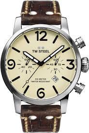 <b>Часы</b> наручные <b>мужские TW Steel</b>, MS23, коричневый — купить в ...