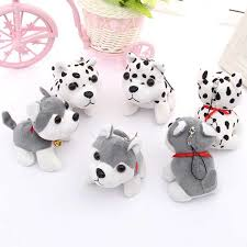 Cute Puppy <b>Toys Husky Plush Toys</b> Spotty <b>Dog Stuffed</b> Animal ...