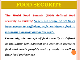 food security and pds system in indiafood security