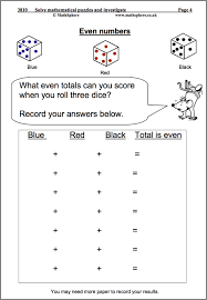 MathSphere Free Sample Maths WorksheetsSolve Maths Puzzles Maths Worksheet