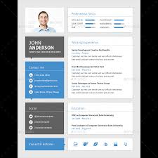 material cv for web developer by samiul75 graphicriver material cv for web developer