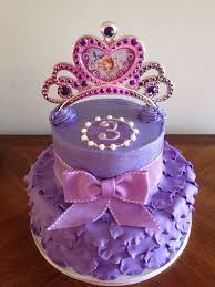 <b>Sofia</b> the First Birthday Cake