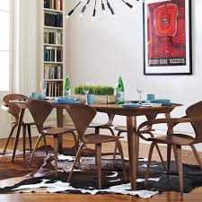 ch177 wholesale natural side chair walnut or ash wooden norman cherner chair plywood chairs red black ch177 natural side chair walnut ash