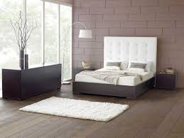 amazing white bedroom furniture design with modern wood flooring and three contemporary brown table lamp with bedroom furniture design ideas