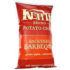 Kettle Foods, <b>Картофельные чипсы</b>, <b>барбекю</b>, 141 г (<b>5</b> унций ...