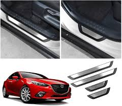 Parts & Accessories For Mazda 3 2019-<b>2020 Stainless Steel</b> Car ...