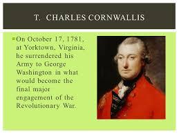 「charles cornwallis 」の画像検索結果