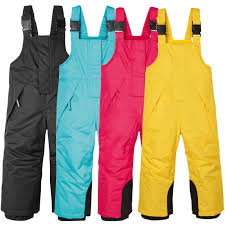 <b>2019 Winter Kids</b> Ski Overalls Fleece Windproof <b>Girls</b> Bib Pants ...