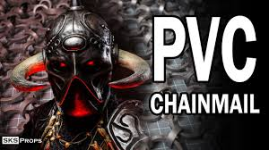 Tips and Tricks for Crafting <b>PVC</b> Chainmail - YouTube