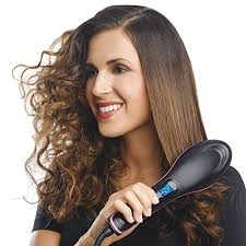 Image result for Electra Brush for straightening hair,