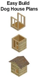 Dog House Plans   Over Free Plans of Dog Houses to BuildEasy Build Dog House Plans   No fancy tools required   Print off as many plans as required