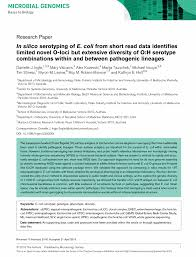 microbiology society journals in silico serotyping of e coli preview thumbnail magnify