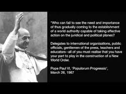 Pope Paul VI - New World Order Quote - YouTube via Relatably.com