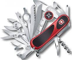 <b>Перочинный нож Victorinox</b> EvoGrip S54 (черно-красный)