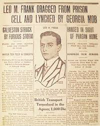 Image result for leo frank lynching