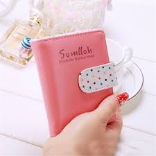 <b>New Fashion Candy Colors</b> Women Wallets Short Polka Dots ...
