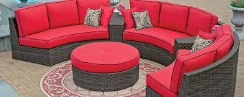 semi circular outdoor sofa patio furniture home