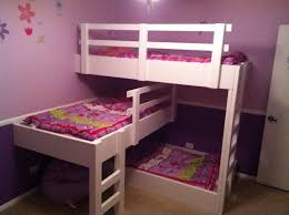 bedroom awesome cool bunk beds for teens kids cute white wooden 2 terraced equipped with bedroom furniture set kids 3