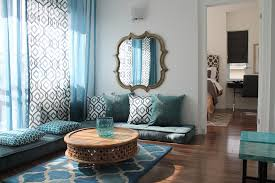 bold living room curtain plus decorative mirror design feat round coffee table and quatrefoil rug also bold living room furniture
