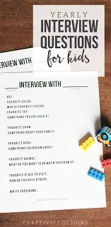 best ideas about questions for interview answers get this set of 14 interview questions for kids to complete each year use it