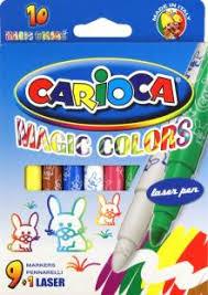 """""""<b>Фломастеры</b> магические """"<b>Carioca</b>"""" <b>9</b> цветных + 1 магический ..."""