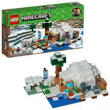 Купить <b>LEGO</b> Minecraft 21142 <b>Конструктор</b> ЛЕГО Майнкрафт Иглу ...