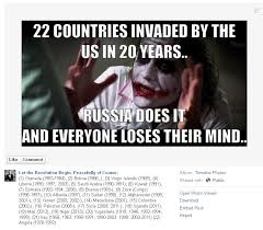 Viral meme says United States has 'invaded' 22 countries in the ... via Relatably.com