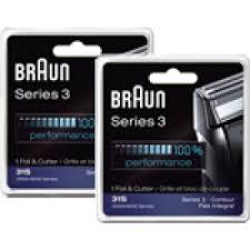<b>Braun 31S</b> x2 <b>Braun Series 3</b> Foil and Cutter Block Sliver Check Price