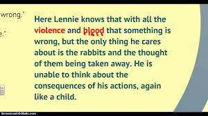 of mice and men character analysis lennie of mice and men character analysis lennie