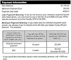 appendix g to part 1026 to 12 cfr 1026 eregulations g 18 d periodic statement new balance due date late payment and minimum payment sample credit cards