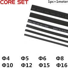 <b>5 Meter</b>(5pcs) <b>2:1 Black</b> 4mm 5mm 6mm 8mm 10mm 12mm 15mm ...