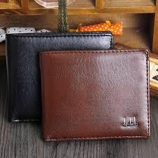 Designer <b>Luxury</b> Brand <b>Small</b> Short Genuine Leather <b>Men</b> Wallet ...