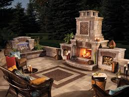 outdoor fireplace paver patio: paver  traditional lowes fire pit decoration exterior white stone fire pit ring on cement pavers backyards as diy exceptional fire pit ring traditional exterior design