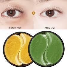 <b>60pcs</b> Crystal <b>Collagen</b> Eye Patches Anti wrinkle <b>Gold Eye Mask</b> Gel ...