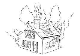 Resultado de imagen para imagen de una casa incendiandose