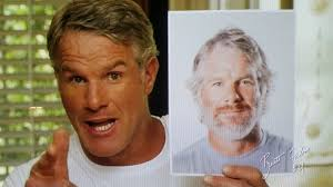 random shots week  that wacky brett favre he s now the man for the micro touch grooming device