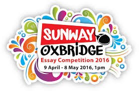 essay about competitionsunway oxbridge essay competition