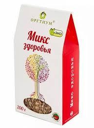 <b>ОРГТИУМ Микс</b> здоровья (семена чиа и ягоды годжи, лен темн. и ...