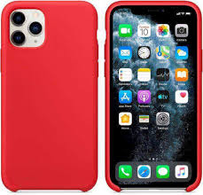 <b>Чехол</b> (<b>клип</b>-<b>кейс</b>) <b>Silicone</b> Case, для <b>Apple</b> iPhone 11 Pro Max, Red