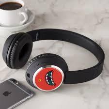 Monogram. <b>Funny Big</b> Mouth Monster. <b>Headphones</b> | Zazzle.com ...