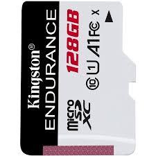 Kingston <b>High</b> Endurance 128GB MicroSD SDXC Flash Memory ...