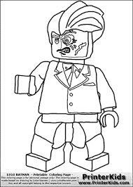 Small Picture Lego Batman Two Face Coloring Page Coloring Pages for B and