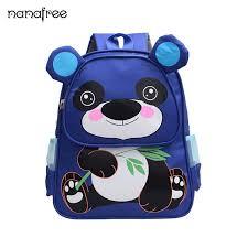 Nanafree <b>Children</b> School <b>Bag</b> Cartoon <b>Panda Baby Backpack</b> Boy ...
