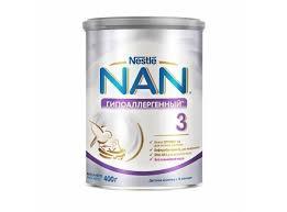 <b>Nan 3 гипоаллергенный</b>, состав детского молочка