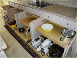 Kitchen Cabinet Slide Out Diy Kitchen Cabinet Pull Out Drawers Monsterlune