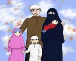 الاسرة المسلمة يتعلق بالبيت المسلم