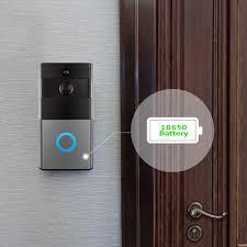 Smart <b>WiFi</b> Wireless <b>Doorbell Camera</b> Ring <b>Visual</b> Intercom Video ...
